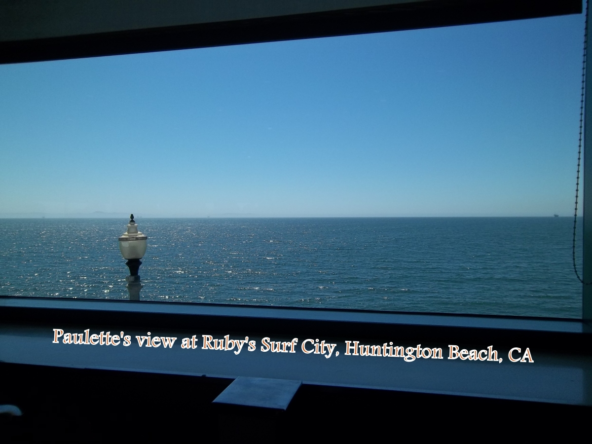 Paulette's View of the ocean at Ruby's Surf City