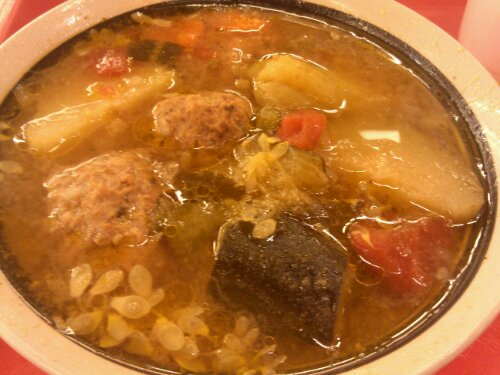 The Best Meal I Had In Tucson Food City S Albondigas Soup