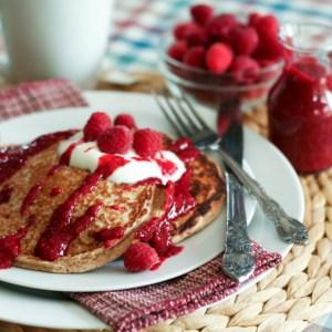 Raspberry-Oatmeal-Protein-Pancakes-3-e1346325496156