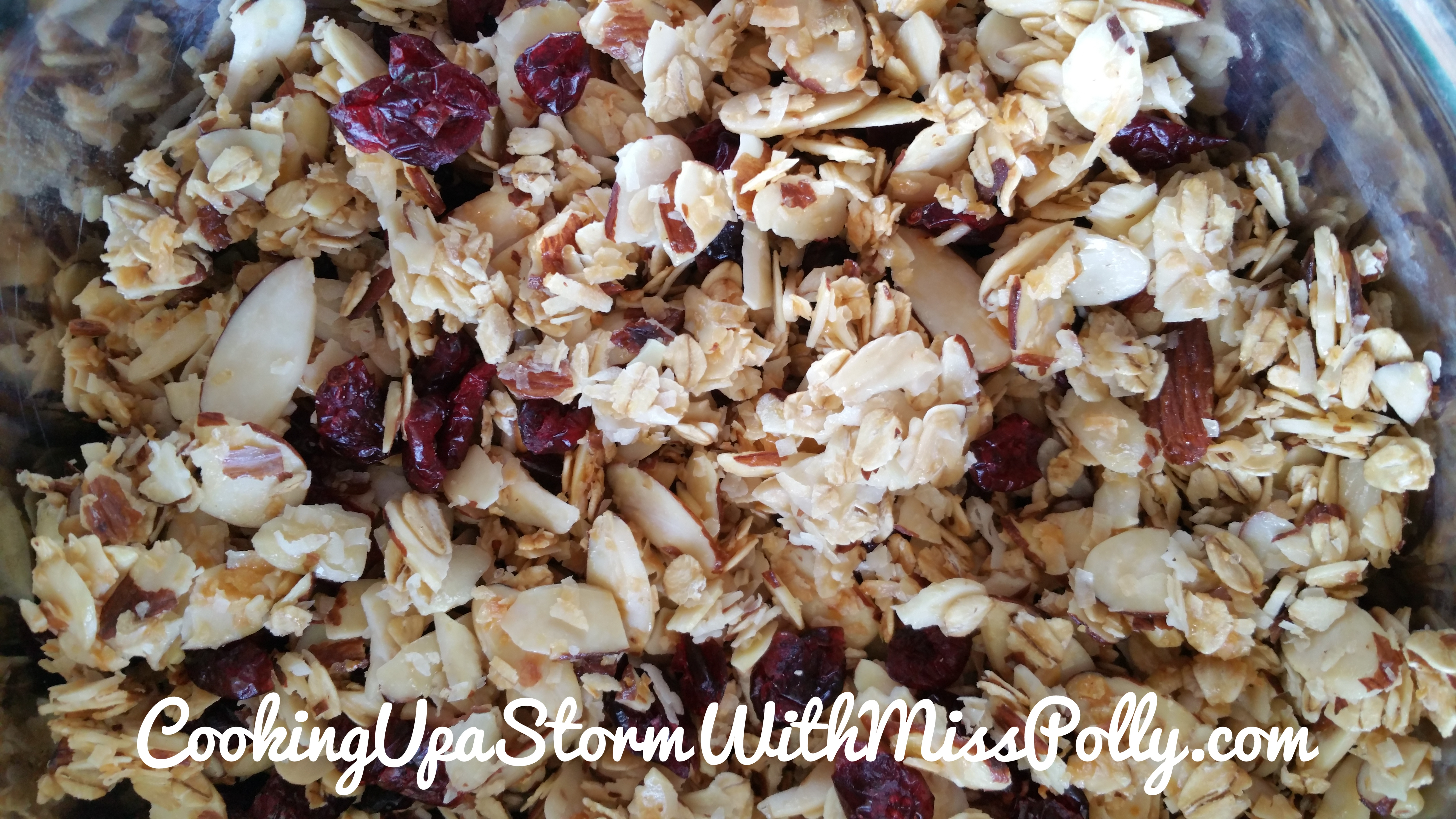 Honey Almond Oat Granola (Made in Air Fryer Oven)