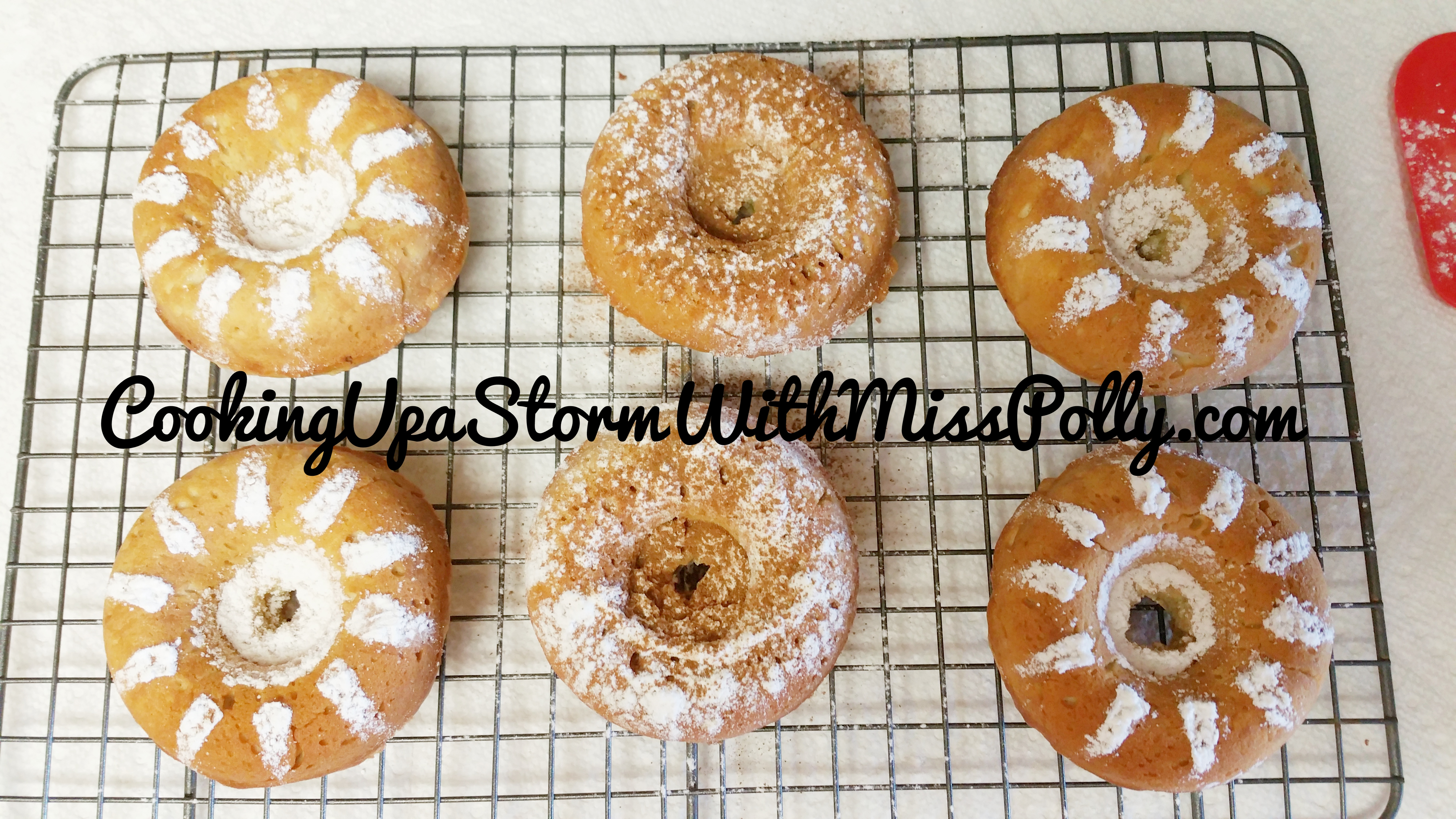 Baked Doughnuts Three Ways Recipe | King Arthur Flour and Polly's Version